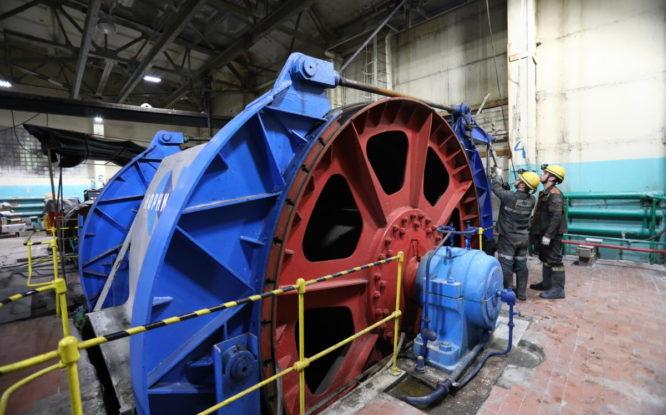 На руднике «Маяк» готовят к запуску новую скиповую машину стоимостью 400 миллионов рублей