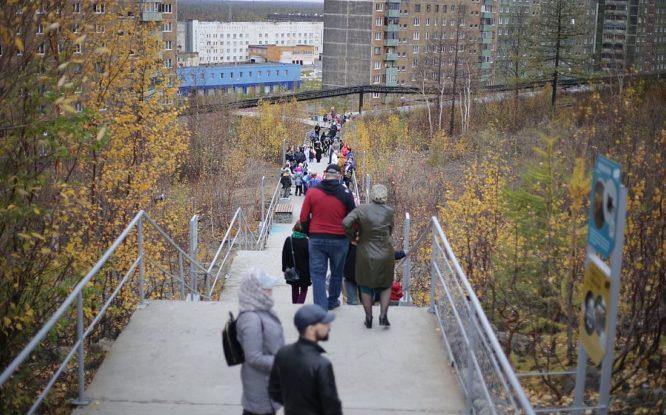 На самой большой лестнице города пройдет «ЭкоНочь-2021»