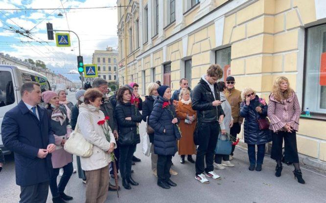 В Санкт-Петербурге открыли мемориальную доску Георгию Жженову
