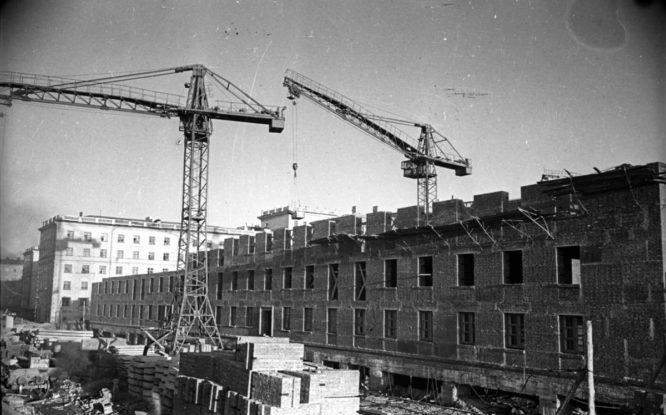 В 1950-х годах дома в Норильске строили будущие жильцы