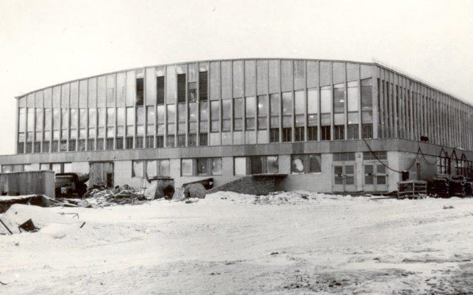 Дворец спорта «Арктика» планировали как небольшой крытый павильон