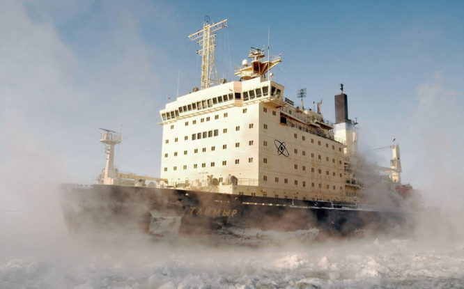 Современный ледокол на смену «Таймыру» должен прийти к 2029 году