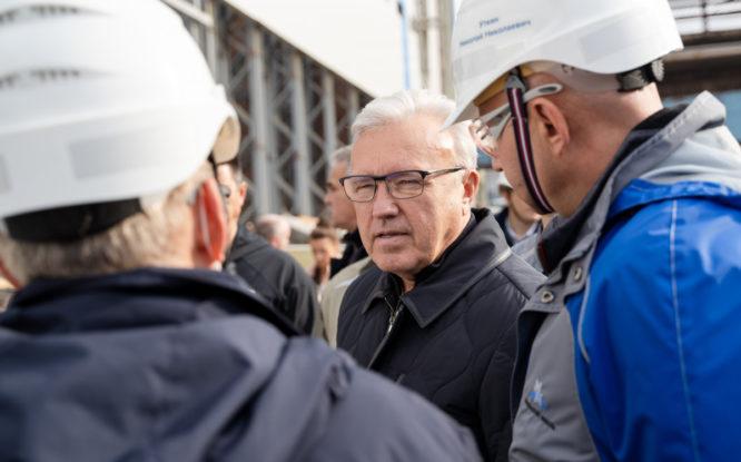 Губернатору края показали площадку «Серной программы»