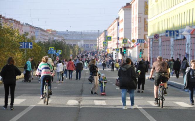 В Норильск на несколько дней пришло бабье лето