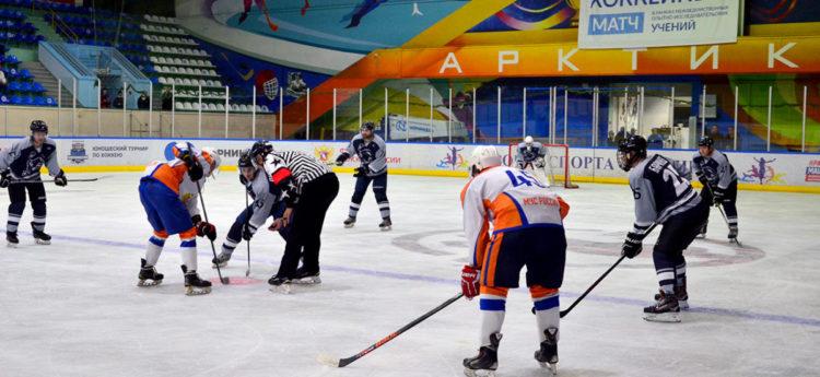 Команда МЧС России обыграла норильскую сборную со счетом 5:2
