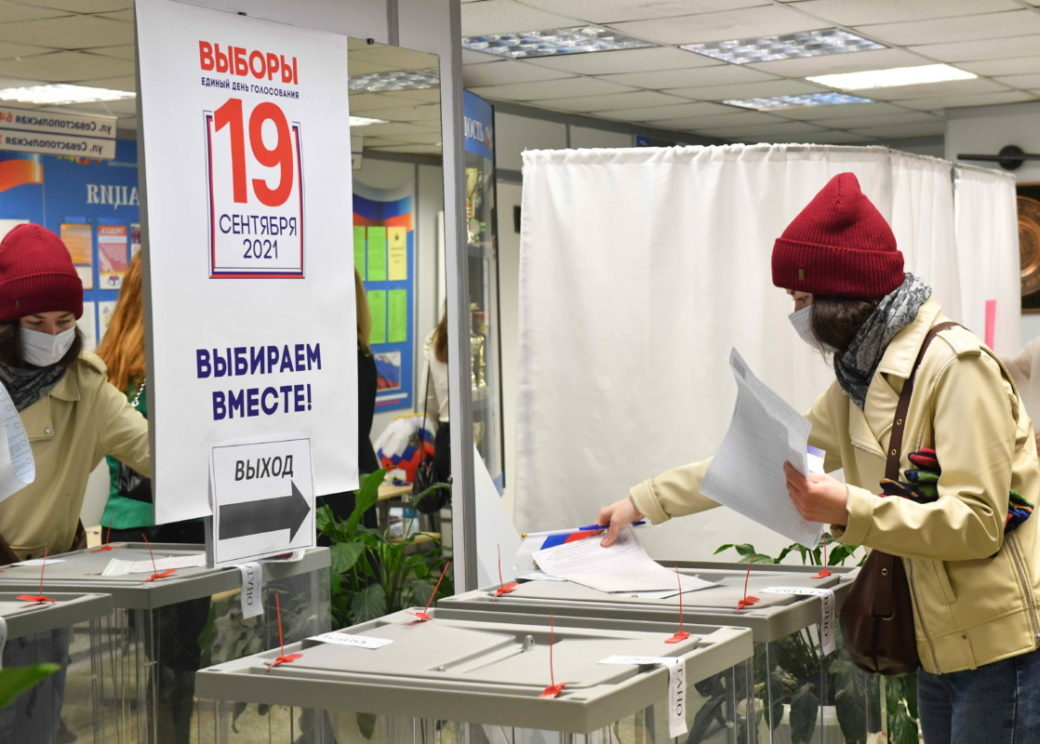 В Красноярском крае явка на избирательные участки составила 37,6 процента
