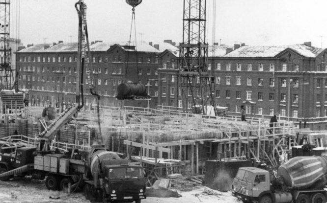 Градостроительство Норильска достигло максимума в 1987-м
