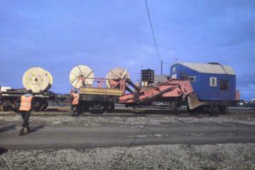 На Норильской железной дороге завершили строительство ВОЛС