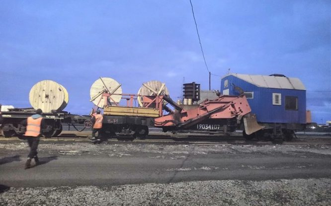 На Норильской железной дороге завершено строительство ВОЛС