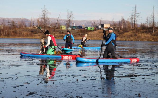 На лыжной базе «Оль-Гуль» провели большой физкультурный праздник