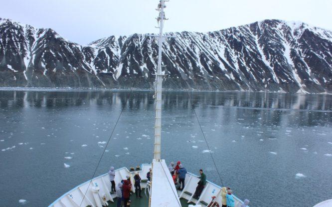 55 ученых на легендарном «Михаиле Сомове» провели исследования в Арктике