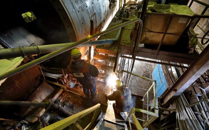 К новому году на заводе стройматериалов заменят второй электрофильтр