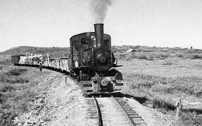 Первый паровоз пошел по норильской земле в 1936 году