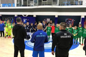 В Норильске провели мини-футбольный турнир «Полярный Мишка»