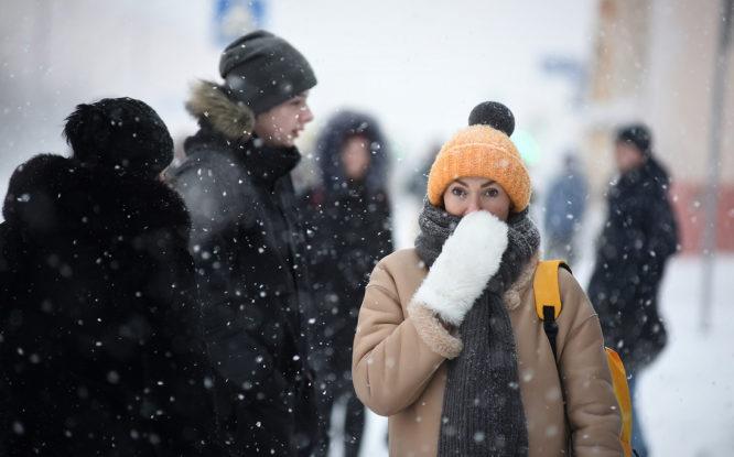 В Норильск пришла зима: похоже, снег уже не растает