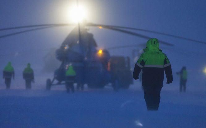 На Таймыре совершил аварийную посадку вертолет Ми-8