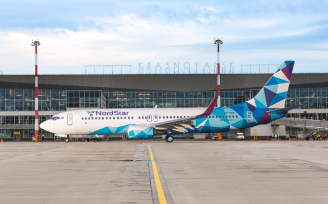 NordStar открыла продажу билетов на прямые рейсы из Красноярска в Сочи и Санкт-Петербург