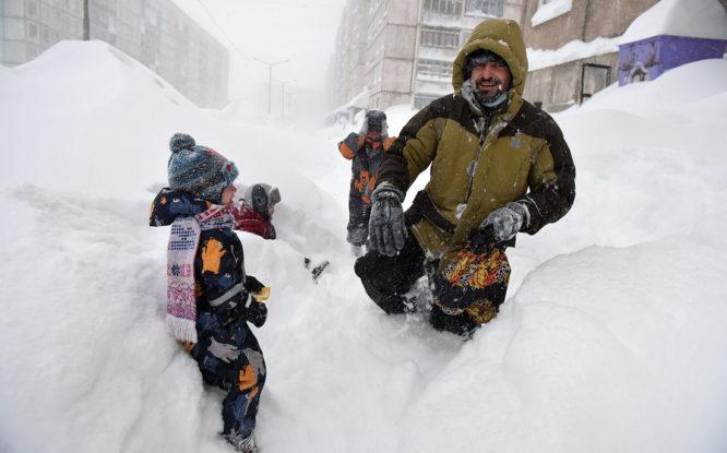 В России ожидают аномально снежную зиму