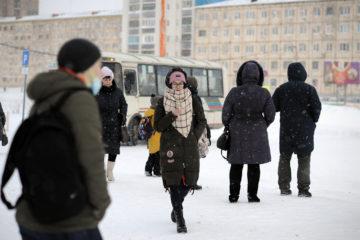 Жители Кайеркана жалуются на переполненные автобусы