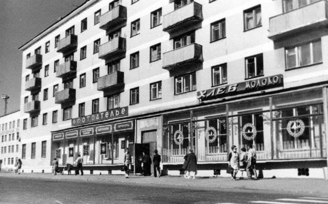 Первые норильские магазины не имели названий