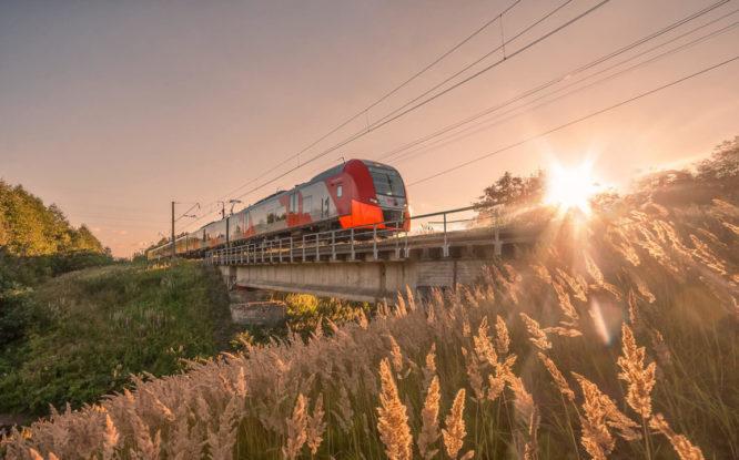 В России появится арктический туристический поезд «Северное сияние»